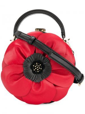 Сумка на плечо в форме цветка Kate Spade. Цвет: чёрный