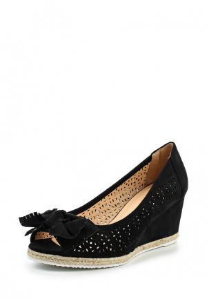 Туфли Ideal Shoes. Цвет: черный