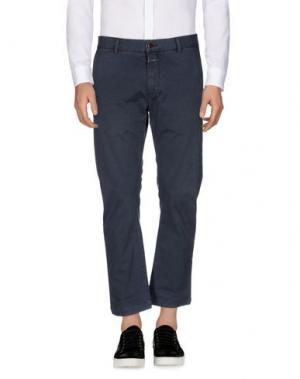 Повседневные брюки CLOSED. Цвет: синий