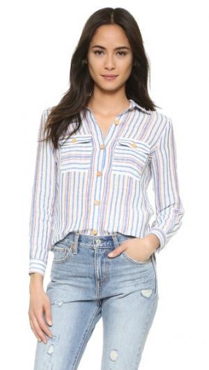 Рубашка Lou Warm. Цвет: мульти