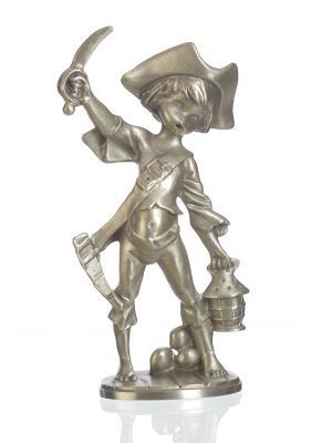 Статуэтка Пират с кинжалом Eagle Pewter. Цвет: серебристый