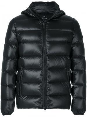 Пуховая куртка на молнии Hetregò. Цвет: чёрный