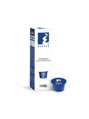 Кофе в капсулах Originale ECAFFE CAFFITALY. Цвет: синий