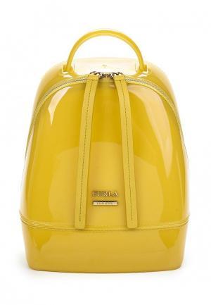 Рюкзак Furla. Цвет: желтый