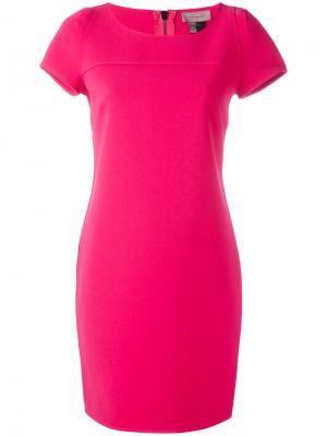 Платье шифт Tony Cohen. Цвет: розовый и фиолетовый