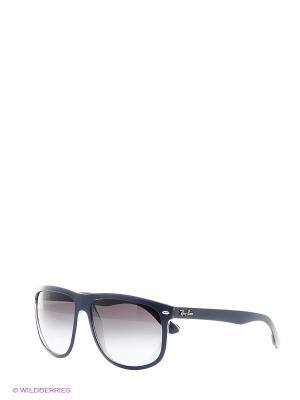 Очки солнцезащитные Ray Ban. Цвет: темно-синий