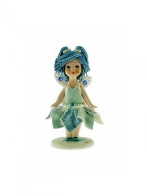 Статуэтка Девочка Эльфик Zampiva. Цвет: голубой