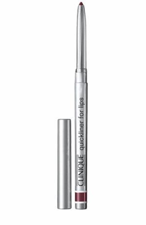 Автоматический карандаш для губ Quickliner, оттенок 33 Clinique. Цвет: бесцветный