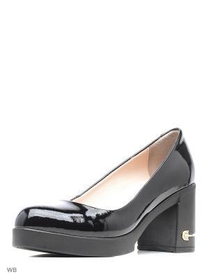Туфли Pera Donna. Цвет: черный