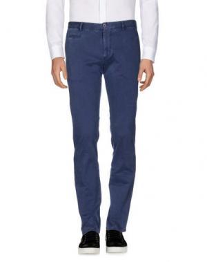 Повседневные брюки ALTEA. Цвет: грифельно-синий