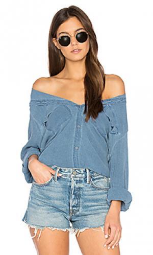 Рубашка isabelle SAM&LAVI. Цвет: синий