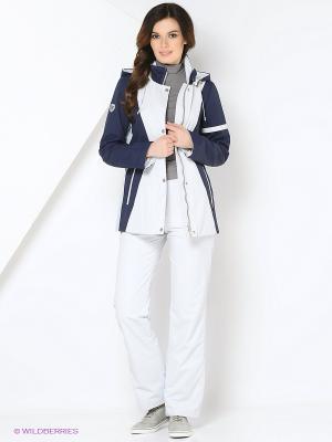 Спортивный костюм KARINA Maritta. Цвет: синий, белый