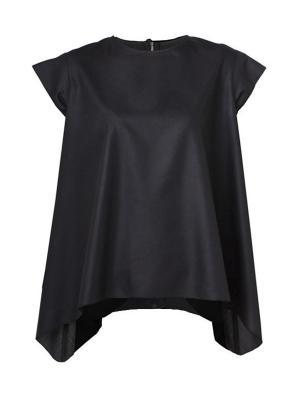Блузка Sabotage. Цвет: черный