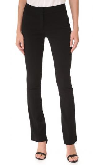 Эластичные расклешенные брюки Tech Yigal Azrouel. Цвет: голубой