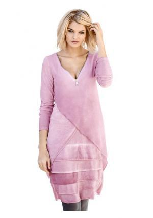 Платье B.C. BEST CONNECTIONS. Цвет: розово-сиреневый
