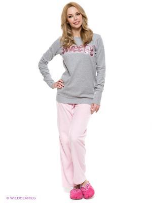 Костюм CATHERINE'S. Цвет: розовый, серый