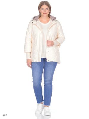 Куртка Vlasta. Цвет: молочный