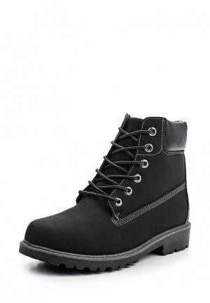Ботинки Pezatti. Цвет: черный