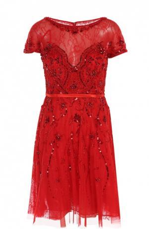 Платье Basix Black Label. Цвет: красный