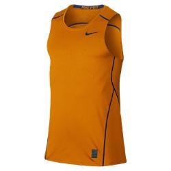 Мужской топ для тренинга  Pro Hypercool Fitted Nike. Цвет: оранжевый