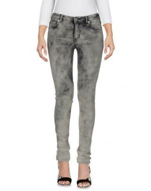 Джинсовые брюки BLK DNM. Цвет: серый
