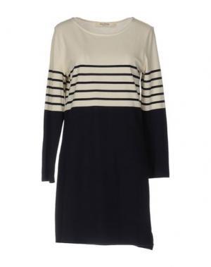 Короткое платье NICE THINGS BY PALOMA S.. Цвет: бежевый