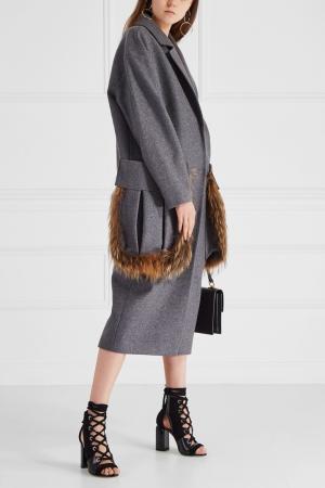 Кашемировое пальто Ruban. Цвет: серый