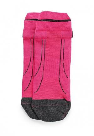 Комплект носков 2 пары PUMA. Цвет: розовый