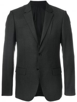 Классический пиджак Wooyoungmi. Цвет: синий