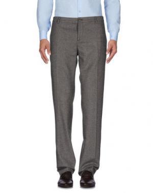 Повседневные брюки GOLD CASE by ROCCO FRAIOLI. Цвет: темно-коричневый