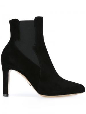 Ботинки челси на высоком каблуке Paul Andrew. Цвет: чёрный