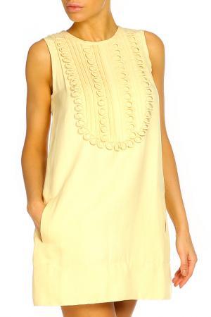 Платье ZHOR&NEMA. Цвет: ванильный