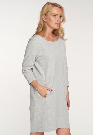 Платье Oh, my. Цвет: серый