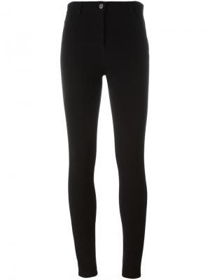Классические леггинсы Givenchy. Цвет: чёрный