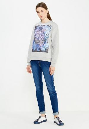 Свитшот Trussardi Jeans. Цвет: серый