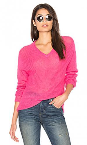 Свитер с v-образной горловиной xael 360 Sweater. Цвет: розовый