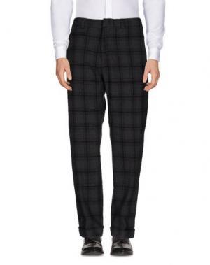 Повседневные брюки TS(S). Цвет: свинцово-серый