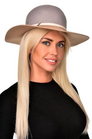 Шляпа Tonak. Цвет: серый, бежевый