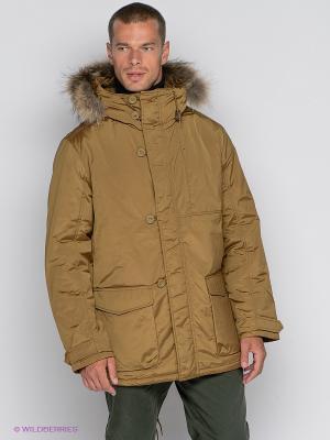 Куртка TOM FARR. Цвет: горчичный