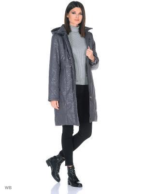 Пальто KRISTIINA Maritta. Цвет: сливовый