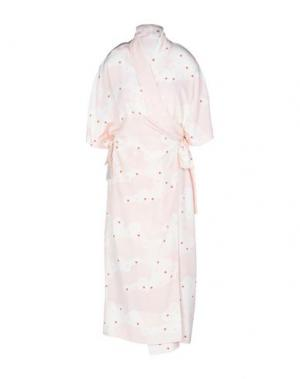 Платье длиной 3/4 SIMONE ROCHA. Цвет: светло-розовый
