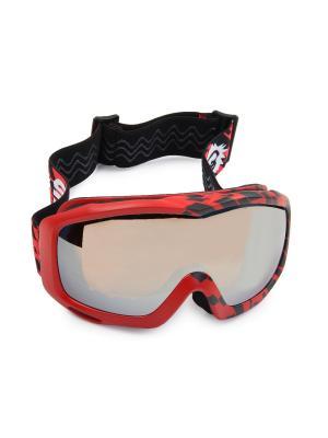 Очки горнолыжные SR27 ORM Sky Monkey. Цвет: красный, черный