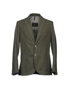 Пиджак RIVIERA. Цвет: зеленый-милитари