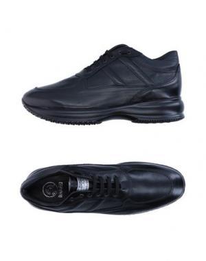 Низкие кеды и кроссовки G.P. PER NOY BOLOGNA. Цвет: черный