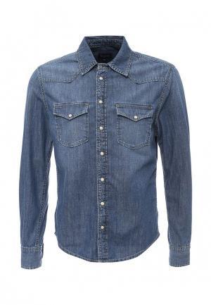 Рубашка джинсовая Pepe Jeans. Цвет: синий