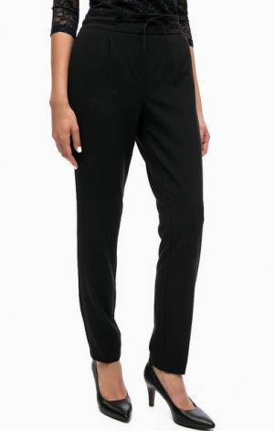 Базовые зауженные брюки LERROS. Цвет: черный