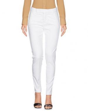 Повседневные брюки J-CUBE. Цвет: белый
