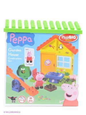 Конструктор летний домик Peppa Pig, 19 дет. BIG. Цвет: голубой