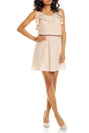 Платье NOMMO. Цвет: beige