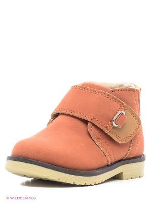 Ботинки PlayToday. Цвет: рыжий